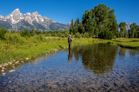 The Tetons from Schwabacher Landing